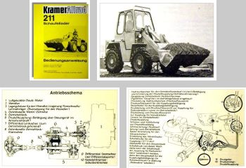Kramer Allrad 211 Schaufellader Betriebsanleitung