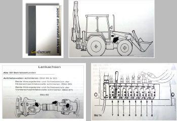 Fermec MF865 MF965 Bedienungsanleitung & Wartung