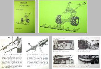 Bucher M300 M300K Motormäher Bedienungsanleitung