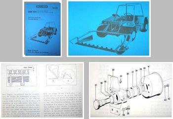Bucher TM800 Bedienung + ETL Doppelmesser BM 201