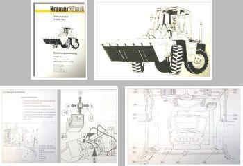 Kramer Allrad 612 SL/SLx Bedienungsanleitung 1994