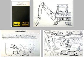 Massey Ferguson MF50H / HX / Allrad Bedienung Wartung