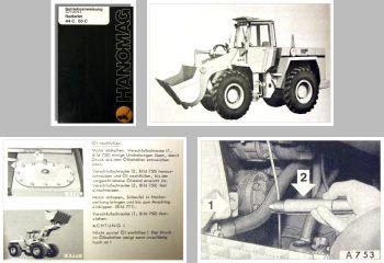 Hanomag MF 44C 55C Radlader Betriebsanleitung