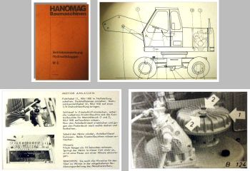 Hanomag M5 Hydraulikbagger Betriebsanleitung