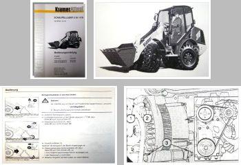 Kramer Allrad 318 / 418 Betriebsanleitung & Wartung