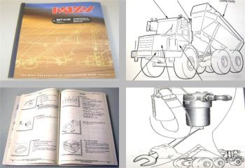 Moxy MT40B Dumper Operating Maintenance Manual 1999
