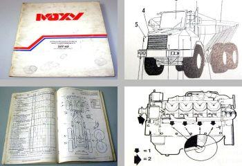 Moxy MT40 Muldenkipper Betriebsanleitung 1994