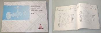 Deutz 2011 Motor Ersatzteilliste Bildkatalog 2001