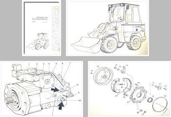 Hanomag 10E Radlader Schulung Werkstatthandbuch