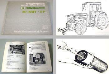 Hürlimann H-491-XF Bedienungsanleitung und Wartung 1993 Betriebsanleitung