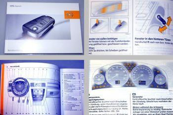 Opel Signum Betriebsanleitung 01/2007 ab Facelift 2005