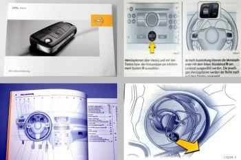 Opel Astra H Bedienungsanleitung & Wartung 08/2006 auch OPC Betriebsanleitung