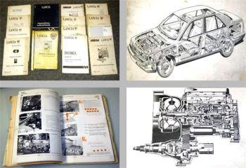 Lancia Fahrzeugtechnik Schulungshandbuch Posten