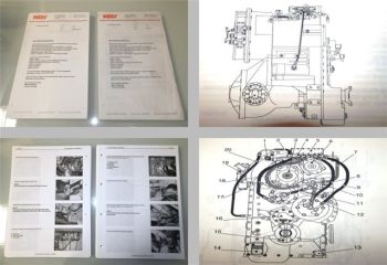 MOXY MT40B truck Shop Manual Transmission 2000/2001