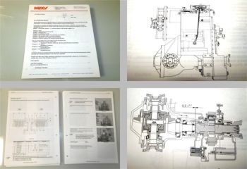 MOXY MT40B / 40B truck Shop Manual Transmission 2001