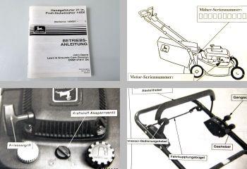 John Deere 14SX Sichelmäher Betriebsanleitung 1996