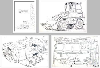 Hanomag 20E Radlader Schulung Werkstatthandbuch
