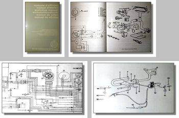 Same Lamborghini Hürlimann Traktoren Werkstatthandbuch