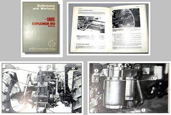Same Explorer 80 Special Betriebsanleitung Wartung