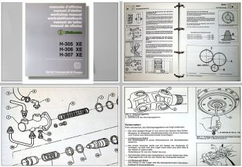 Hürlimann H-305, H-306, H-307 XE Werkstatthandbuch