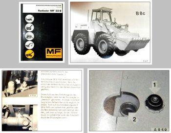 Massey Ferguson MF33B Betriebsanleitung Wartung