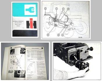 IHC B- u. C-Familie Sens-O-Draulic Werkstatthandbuch