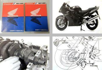 Werkstatthandbuch Honda CBR 1100 XX v / w 1996 - 1997 Reparaturanleitung
