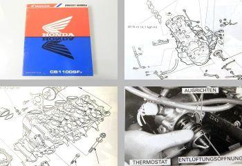 Werkstatthandbuch Honda CB1100SF SC42 X11 Reparaturanleitung ab 1999