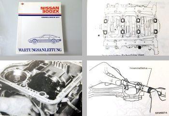 Nissan 300ZX Z31 Wartungsanleitung Werkstatthandbuch 84