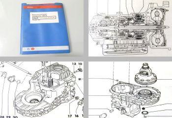 VW T4 Werkstatthandbuch 098 Automatisches Getriebe ab 1991 Stand 1994