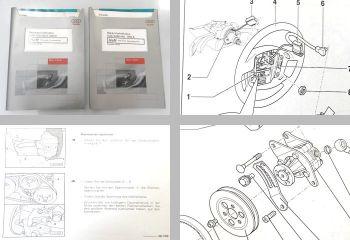 Reparaturleitfaden + Diagnose Audi Cabriolet ab 1992 Fahrwerk Werkstatthandbuch