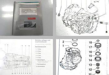 Reparaturleitfaden Audi Cabriolet 8G 012/01W Getriebe Werkstatth