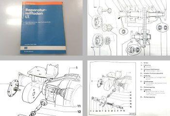 Reparaturleitfaden VW LT 1 4x4 ab 1986 Werkstatthandbuch Verteilergetriebe 1989