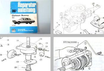 Datsun Sunny 120Y 140Y ab 1978 Reparaturanleitung