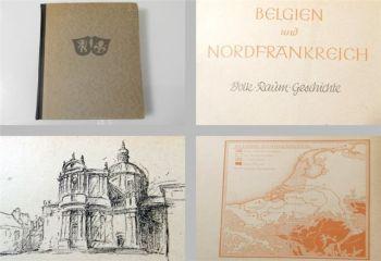 Belgien und Nordfrankreich - Volk Raum Geschichte 1943