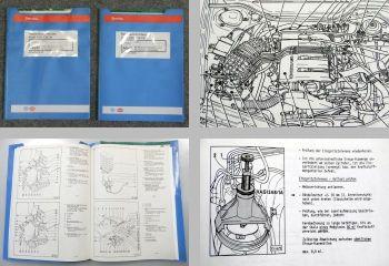 Reparaturleitfaden Audi 100 C4 Werkstatthandbuch KE-Motronic ACE + Motor Daten