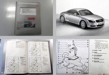 Werkstatthandbuch Audi TT 8N Kraftstoffversorgung Benziner Reparaturleitfaden
