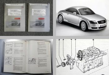 Reparaturleitfaden Audi TT 8N Werkstatthandbuch 1,8l Turbo Motor 5V AJQ APP