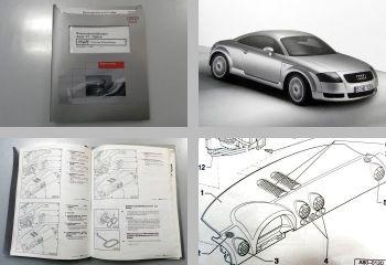 Reparaturleitfaden Audi TT 8N Klimaanlage Heizung Werkstatthandbuch
