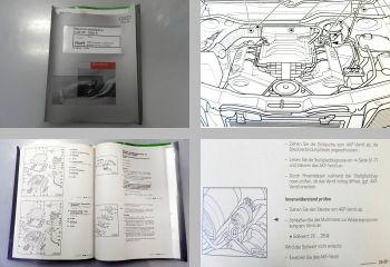 Reparaturleitfaden Audi 80 B4 Werkstatthandbuch 2,8l MPI Zündanlage AAH