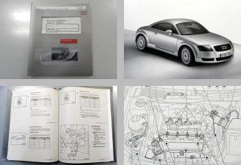 Reparaturleitfaden Audi TT 8N Werkstatthandbuch 1,8 l AJQ Motronic