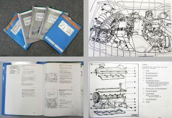 5 Reparaturleitfaden Audi 100 C4 A6 Werkstatthandbücher Motor AAE AAD ABB ABK