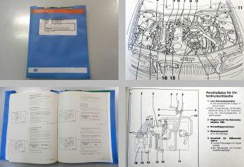 Reparaturleitfaden Audi 100 C4 Werkstatthandbuch Digifant 2,0l ABK ADW