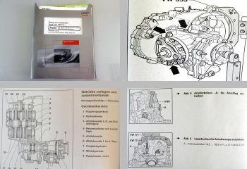 Reparaturleitfaden Audi A3 8L Turbo Getriebe 02M Werkstatthandbuch DQB DXW EFY