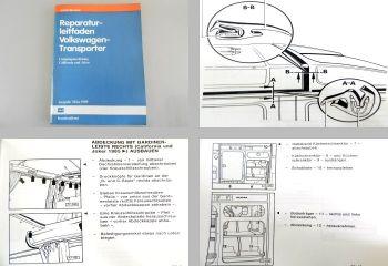 Reparatur VW T3 Transporter Campingausrüstung California Joker Werkstatthandbuch