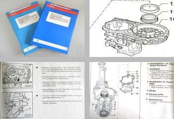 Reparaturleitfaden + Eigendiagnose VW T4 Automatikgetriebe 01P ab1/95