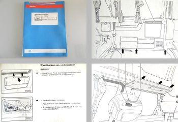 Reparaturleitfaden VW T4 California exclusive Karosserie Montage + Camping