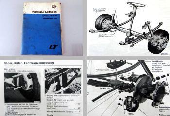 Werkstatthandbuch VW LT I LT40, LT45 + LT50 Reparaturleitfaden F