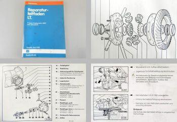 Reparaturleitfaden VW LT 1 ab 1982 008/I 5-Gang Getriebe Werkstatthandbuch 1990