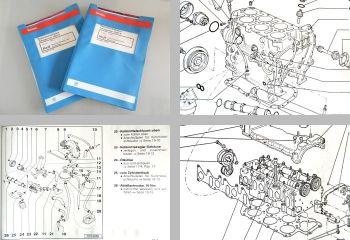 Reparaturleitfaden VW T4 Werkstatthandbuch 2,8l VR6 Motor + Motronic AES
